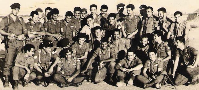 סיירת מטכ'ל מחזור ראשון 1958
