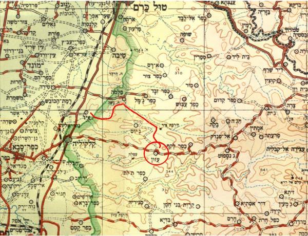 מגניב ביותר צנחנים, מבצע ברוך - פעולת תגמול כפר עזון 1954 UW-04